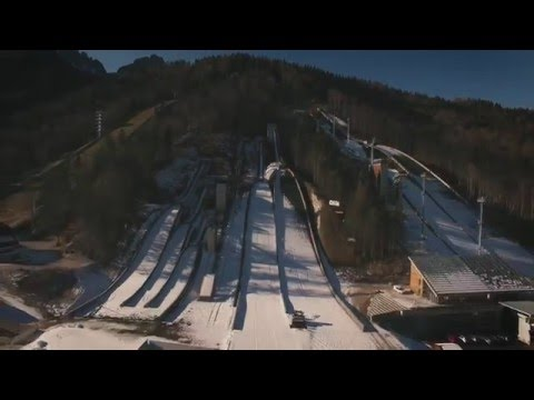 Planica - Nordic center (DJI Phantom 3 professional)