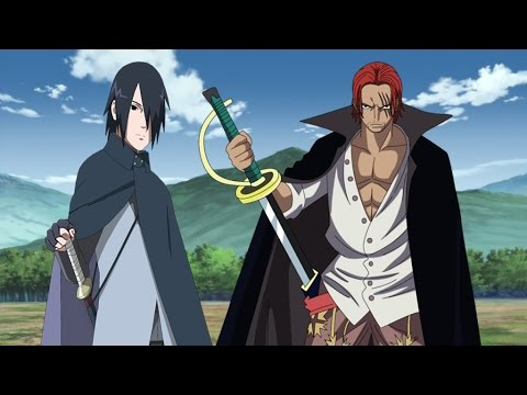 sasuke vs shanks youtube