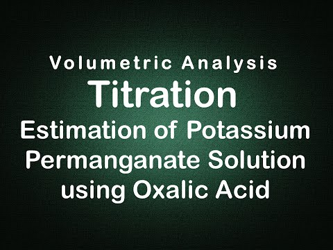 Titration with NaOH and oxalic acid