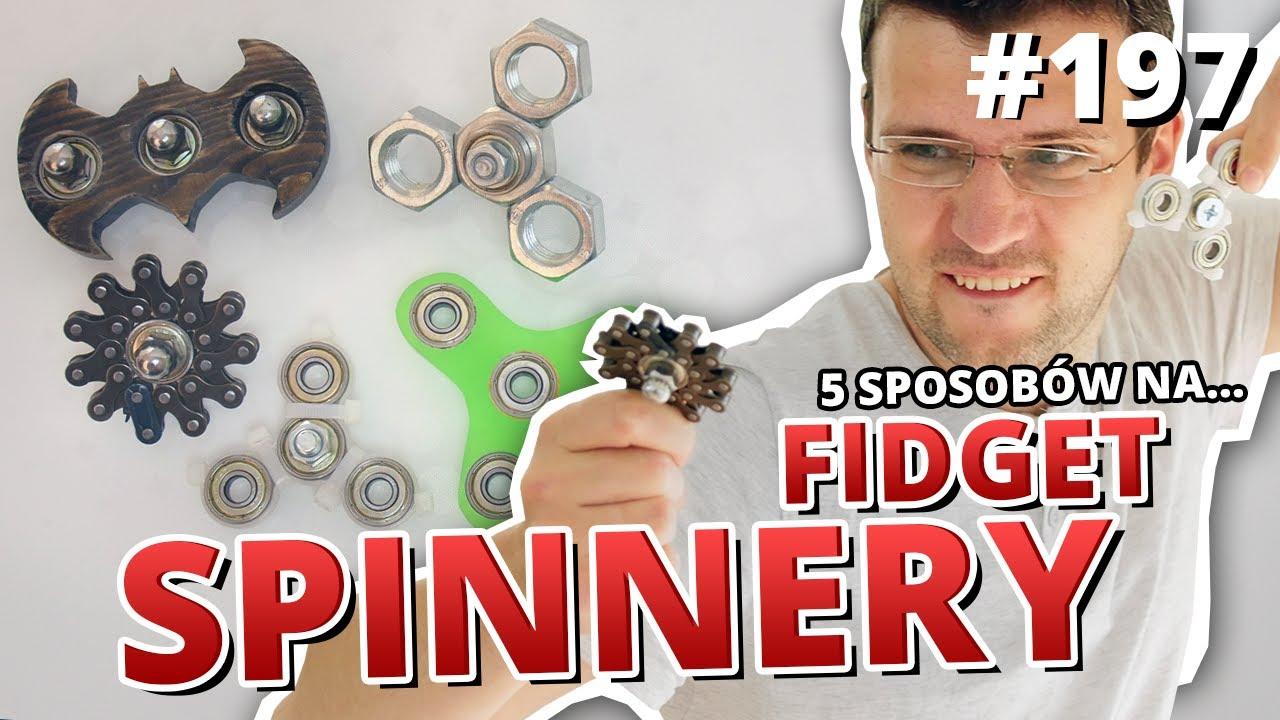 5 sposobów na ... FIDGET SPINNER