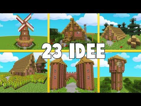 23 IDEE PER LA VOSTRA VANILLA! Minecraft ITA