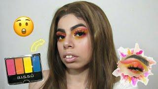 Maquillaje con BISSÚ, cuarteto 30. Peluca DonaloveHair💞 | Aaleh makeup