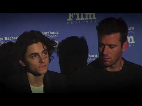 Is it a video? - Armie Hammer, Timothee Chalamet Q&A SBIFF Cinema Society