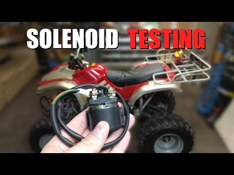 How to Test an ATV Solenoid! - YouTube