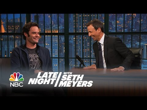 Bill Hader on the Origin of Stefon - Late Night with Seth Meyers ...