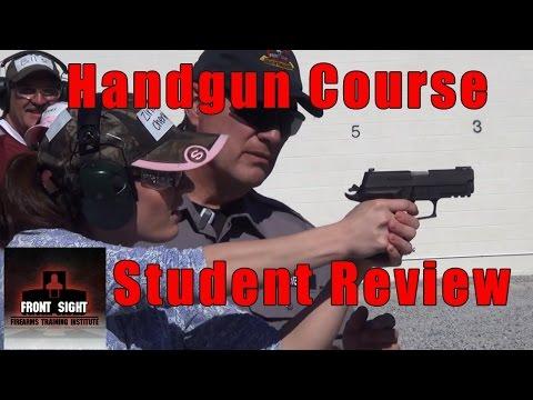 4 Day Handgun Course Review-Ladies Gun Training Review-Student Review Handgun Training-Gun Course
