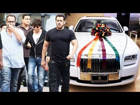 Shahrukh GIFTS Salman An Expensive Car, Shahrukh To Give Lecture At Oxford University