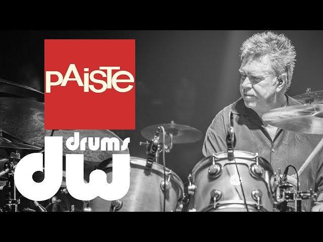 John Jr Robinson drum solo -  Paiste & DW drums