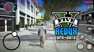 [Apk+Data] GTA V Redux Modpack Android 2020 V2 | By Mohsin Mania | EID Special GTA V Android Modpack