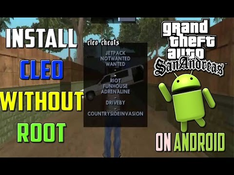 How to Install Cleo Mod on GTA SA ! Android[Without Root]