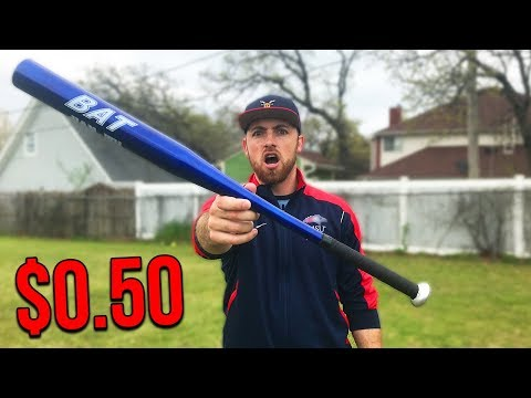 This Is The World's CHEAPEST MLB Baseball Bat!