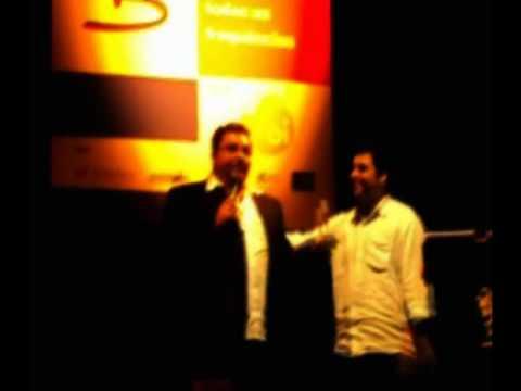 Premiação Escola de Rádio - Anderson Ramos (Rádio Manchete) melhor repórter 2009