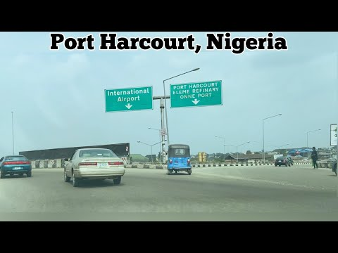 SEE WHAT PORT HARCOURT CITY NIGERIA LOOKS LIKE IN 2021#2 ||Airport road, Uniport, CHOBA ||VLOG