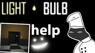 HORROR ROBLOX GAME SPOOKD ME LightBulb: Chapter 1