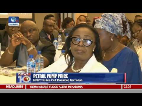 News@10: NNPC Rules Out Possible Pump Price Increase 09/08/16 Pt. 2