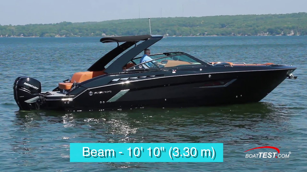 Cruisers Yachts 338 Ob 2019 Test Video By Boattest Com