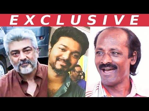 Ajith's Smile & Vijay's Respect | Muthukalai Opens up