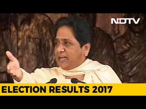 BSP's Mayawati Blames Rigging Of Election Voting Machines For UP Defeat