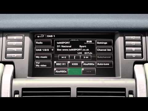 Discovery Sport 15 Model Year - InControl Touch Plus: Digital Audio Broadcasting Radio