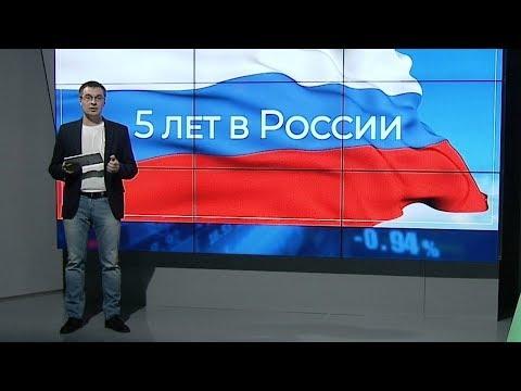5 лет в России: бюджет