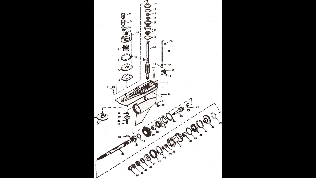 Alpha 1 Gen 2 Parts Diagram Pioneer Deh 1600 Wiring Mercruiser Generation Drawing Youtube