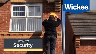 How to install a Yale easy fit alarm with Wickes
