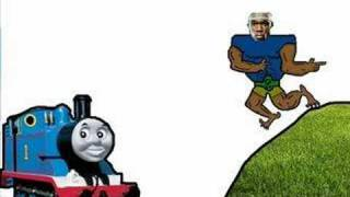Thomas The Tank Engine vs. 50 cent(best version)