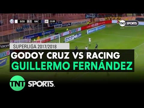 Guillermo Fernández (1-1) Godoy Cruz vs Racing | Fecha 17 - Superliga Argentina 2017/2018