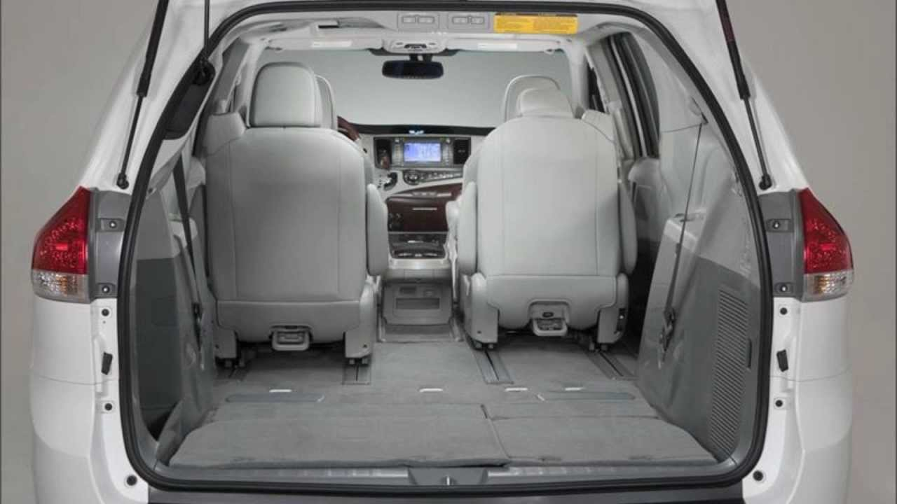 All New 2013 Toyota Sienna Review Inside Amp Outside Youtube