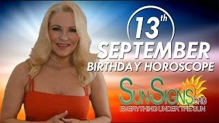 Birthday September 13th Horoscope Personality Zodiac Sign Virgo Astrology