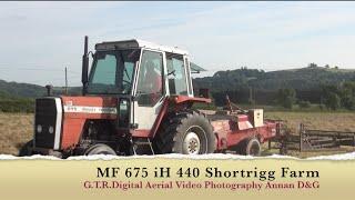 mf 675 ih 440 small baler shortrigg farm gtritchie5