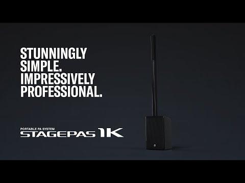 Yamaha Portable PA System STAGEPAS 1K