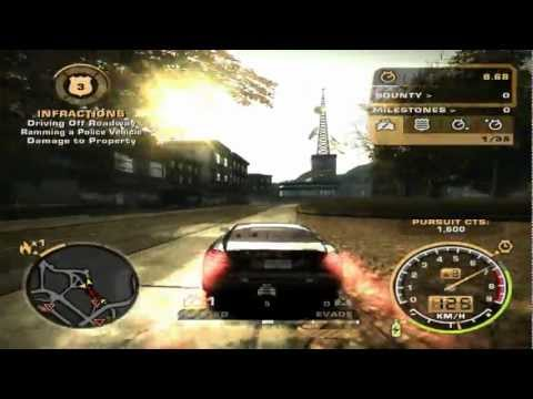Need For Speed: Most Wanted (2005) - Race #123 - Diamond Park (Sprint)