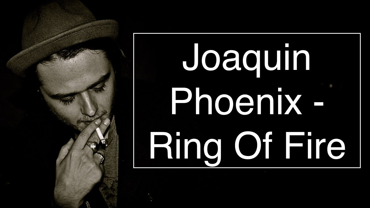 Joaquin Phoenix Ring Of Fire Walk The Line Soundtrack Guitar