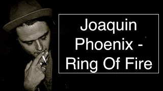 Joaquin Phoenix - Ring Of Fire [Walk The Line Soundtrack] [Guitar Tuto/Lesson/Cover With CHORDS]