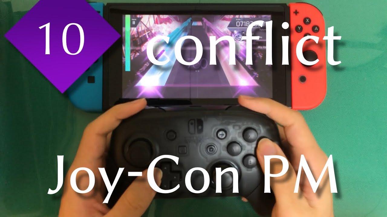 【雰囲気押し】conflict (FUTURE 10) Joy-Con PM(-6)【Switch版Arcaea】