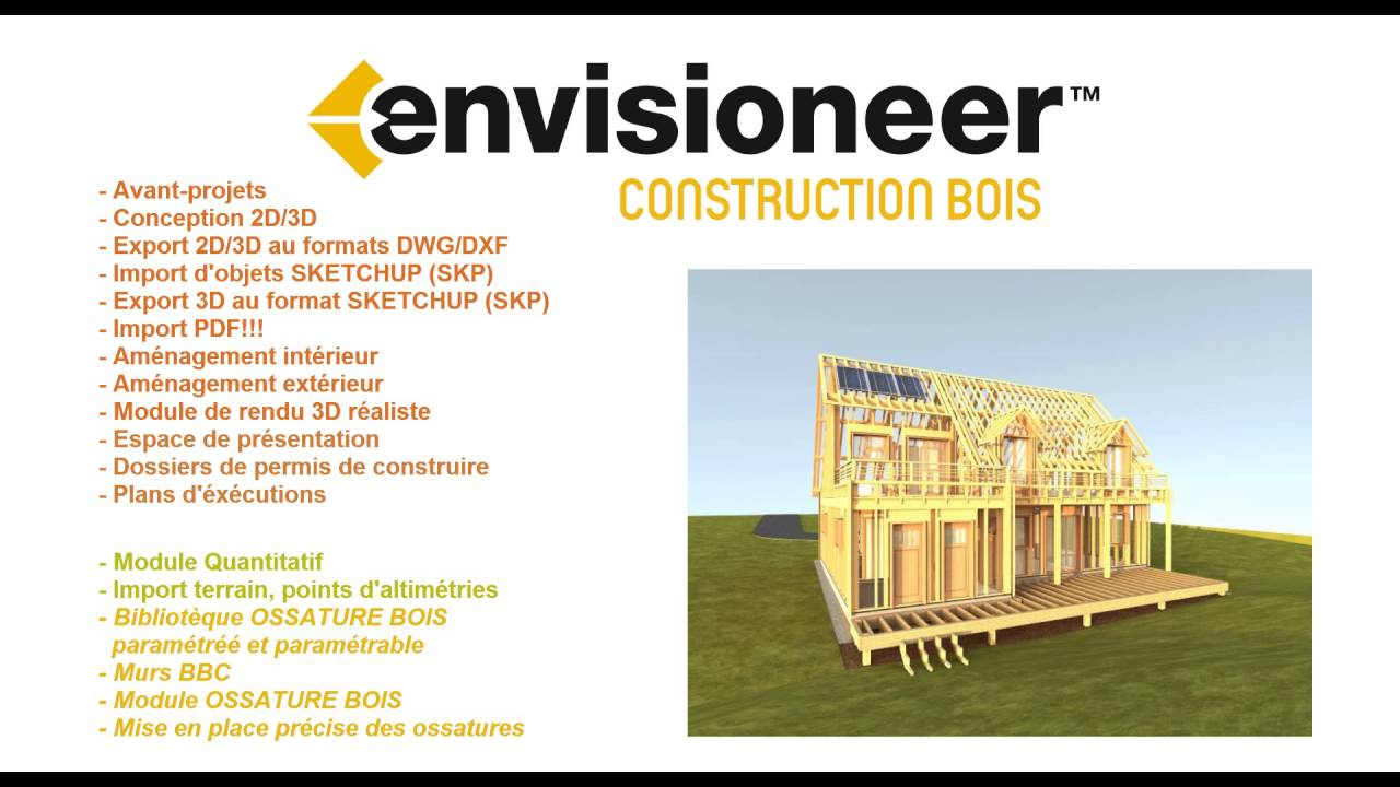 envisioneer construction bois