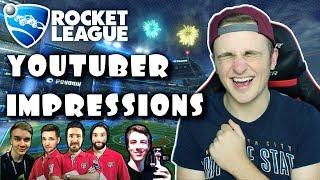 20 Rocket League YouTuber Impressions...