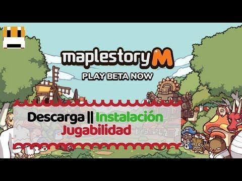 Maplestory Mobile  || Descarga, Instalación Y Jugabilidad || ESPAÑOL