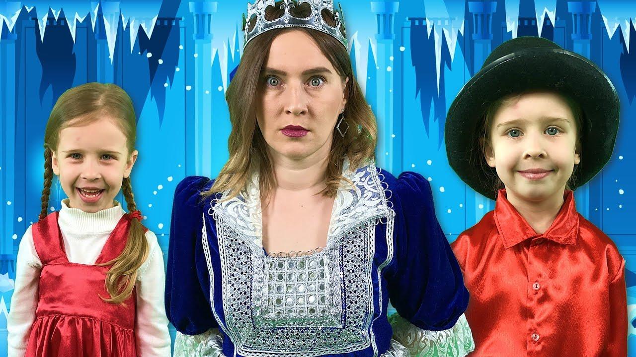 Снежная королева + Златовласка и три медведя | Сказки на ночь для детей