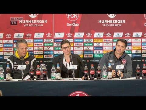 18. Spieltag | FCN - SGD | Pressekonferenz nach dem Spiel