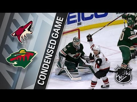Arizona Coyotes vs Minnesota Wild – Feb. 08, 2018 | Game Highlights | NHL 2017/18. Обзор
