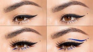 4 Eyeliner Looks in 1 minute   Maryam Maquillage
