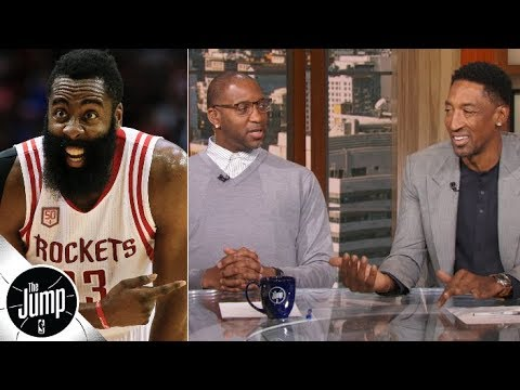 eb3d18c03f5 James Harden s usage rate amazes Tracy McGrady and Scottie Pippen ...