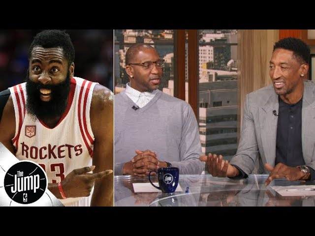 James Harden's usage rate amazes Tracy McGrady and Scottie Pippen | The Jump
