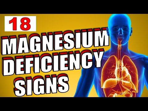18 Signs That You Are Magnesium Deficient | How To Increase Magnesium Naturally