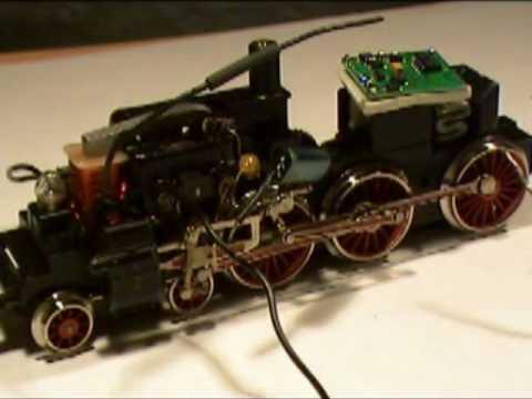 Digitalumbau einer Märklin BR38 mit einem Tams-Decoder LD-W-32 Komplettes Video