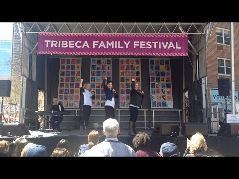 DISENCHANTED! Performs at Tribeca Family Festival 2015