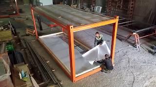 Производство и монтаж модульных зданий
