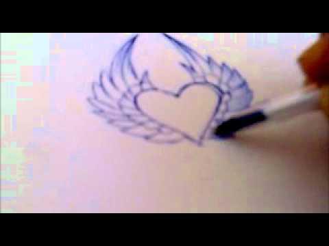 dibujo de corazon  YouTube